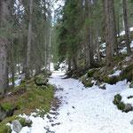 Sentiero Pastgaglias - Andeer