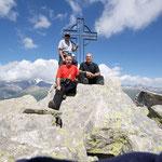 Brudelhorn 2791 m (Luciano, Chico e io)