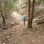 Sul sentiero per Auros