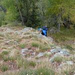 Sentiero Cortin Bocchetta di Braghecc