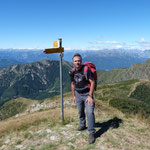 Io sul Monte Gradiccioli 1935 m