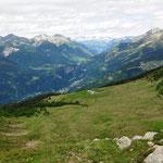 Alpe Nara e l'alta Leventina