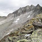 Bocchetta a 2803 m