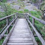 Ponte sopra il Ri di Tomè a Corsgèla