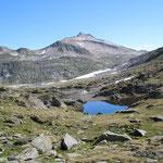 Laghetti della Miniera 2525 m e Piz Rondadura