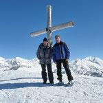 Chico e io sul Föisc 2208 m