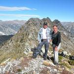 Chico e io alla Bocchetta d'Egion 2145 m