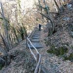 Sul sentiero Busada - Alpe di Bietri