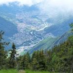 Da Er del Bastardell 1860 m verso Bellinzona