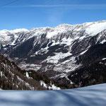 Dall'Alpe Cadonighino verso il Gottardo