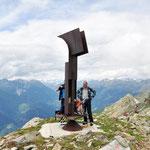 Particolare scultura sul Pizzo Erra 2416 m