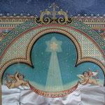 Krippe, Hinterglasverzierungen-Malerien, sehr alt und gut erhalten. Angebot Fr. 480.- oder 100% WIR