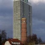"""Travemünde, alter und """"neuer"""" Turm"""