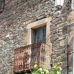 Französischer Mittelalter-Balkon