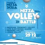 Locandina evento realizzata per lo Jonio Volley, Nizza di Sicilia