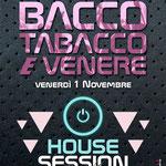 Flyer realizzato per il BAcco, Tabacco e Venere pub di Alì Terme