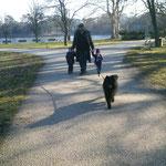 Spaziergang im Laxenburger Schloßpark
