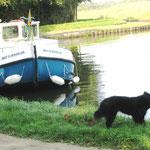 Bootsfahrt in Frankreich