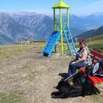 Urlaub in Tirol, am Venet