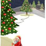 Kerstkaart voor alexia-illustraties.nl