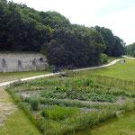 La Corroierie du Liget : jardin potager - table d'hôtes