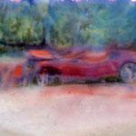 Crash, 20x30, mixed media on paper, 2015