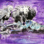 Vultures 70x100 cm Oil/Canvas 2011