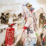 Schaumfrau 130x220 cm Oil/Canvas 2012