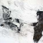 Bird 42x29,7 cm Graphite/Paper 2012