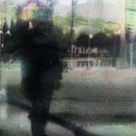 Black jump 2, 20 x 30 cm, pigment print, oil, paper, 2016