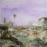 Canal 150x150 cm Oil/Canvas 2009
