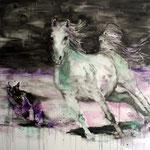 White Horse 1 170x170 cm Oil/Canvas 2011