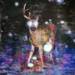 Nightdeer 8 150x220 cm Oil/Canvas 2011