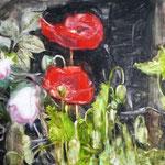 Poppies 160x190 cm Oil/Canvas 2014