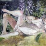 Blanket 140x130 cm Oil/Graphite/Canvas 2013