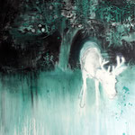 Nightdeer10 130x100 cm Oil/Canvas 2012