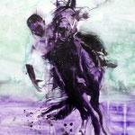 Black Rider 100x70 Oil/Canvas 2011