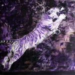 Tiger 180x180 cm Oil/Canvas 2011