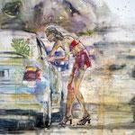 Street 150x140 cm Oil/Canvas 2011