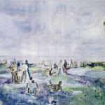 Waiting 110x140 cm Oil/Canvas 2009