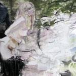 Bushhunter 160x190 cm Oil/Graphite/Canvas 2013