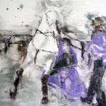 White Horse 4 60x50 cm Oil/Canvas 2011