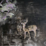 Nightdeer 7 140x150 cm Oil/Canvas 2011