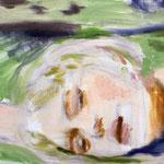 Lying 30x40 cm Oil/Graphite/Canvas 2013