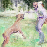 Dog 50x50 cm Oil/Canvas 2009