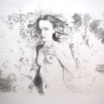 Touching 50x65 cm Graphite/Paper 2013