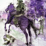 Black Rider2 100x70 Oil/Canvas 2011
