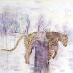 Cheetah 50x50 cm Oil/Canvas 2009