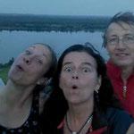 Nach 105 km auf Bistumshöhe vor Leipzig angekommen