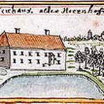 Schloss Neuhaus/Chalupki im 18.Jh.